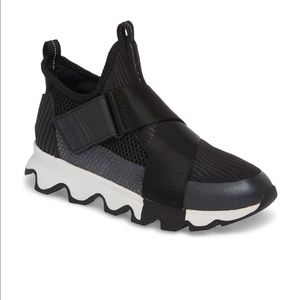 Sorel Kinetic Sneak high top black- 7